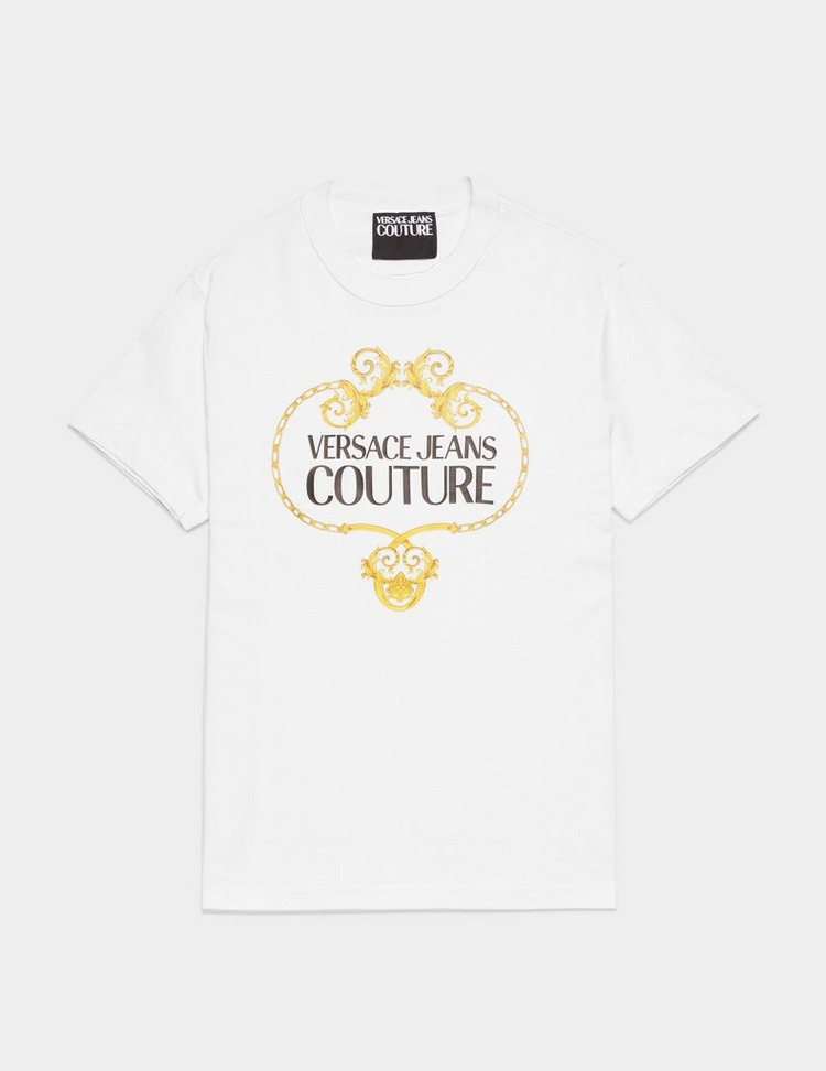 Versace Jeans Couture Baroque Wreath Short Sleeve T-Shirt