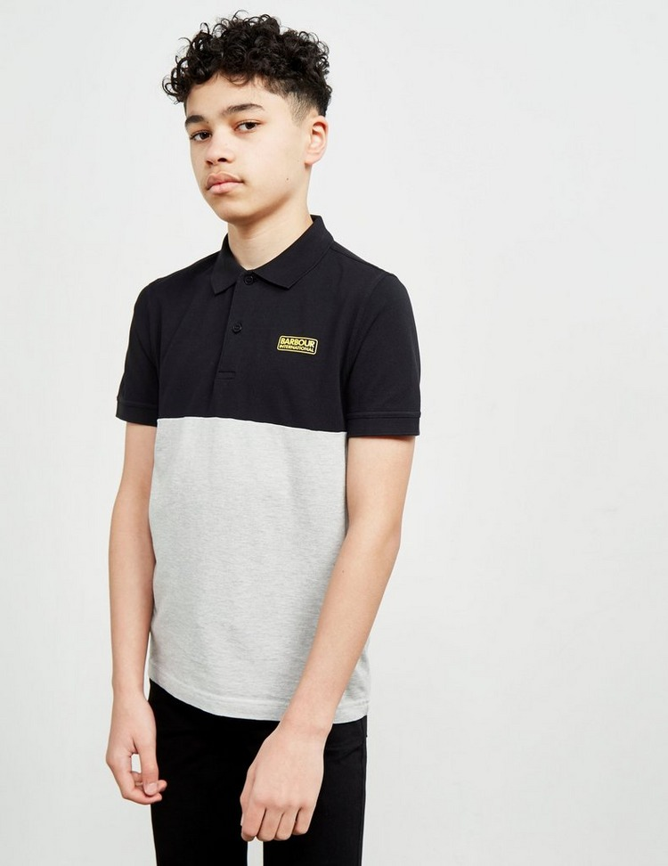 Barbour International Contrast Short Sleeve Polo Shirt