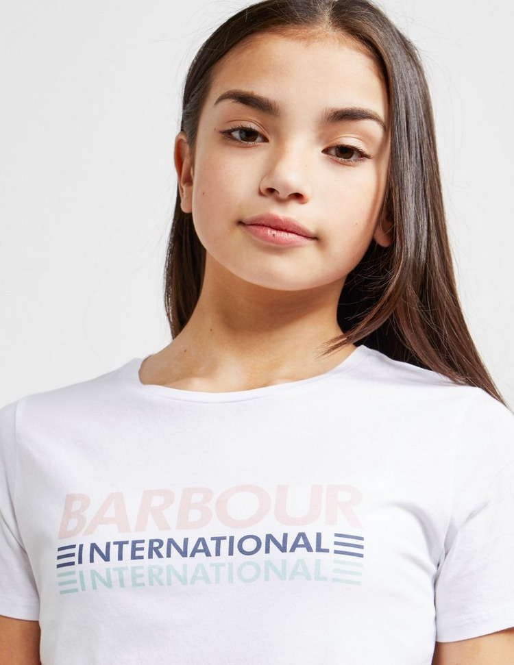 Barbour International Track Short Sleeve T-Shirt