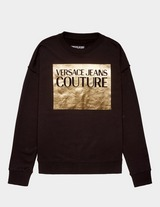 Versace Jeans Couture Square Foil Logo Sweatshirt