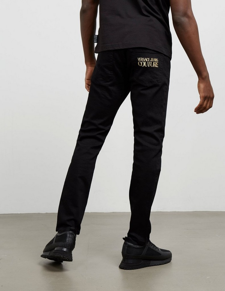 Versace Jeans Couture Tapered Embroidered Jeans