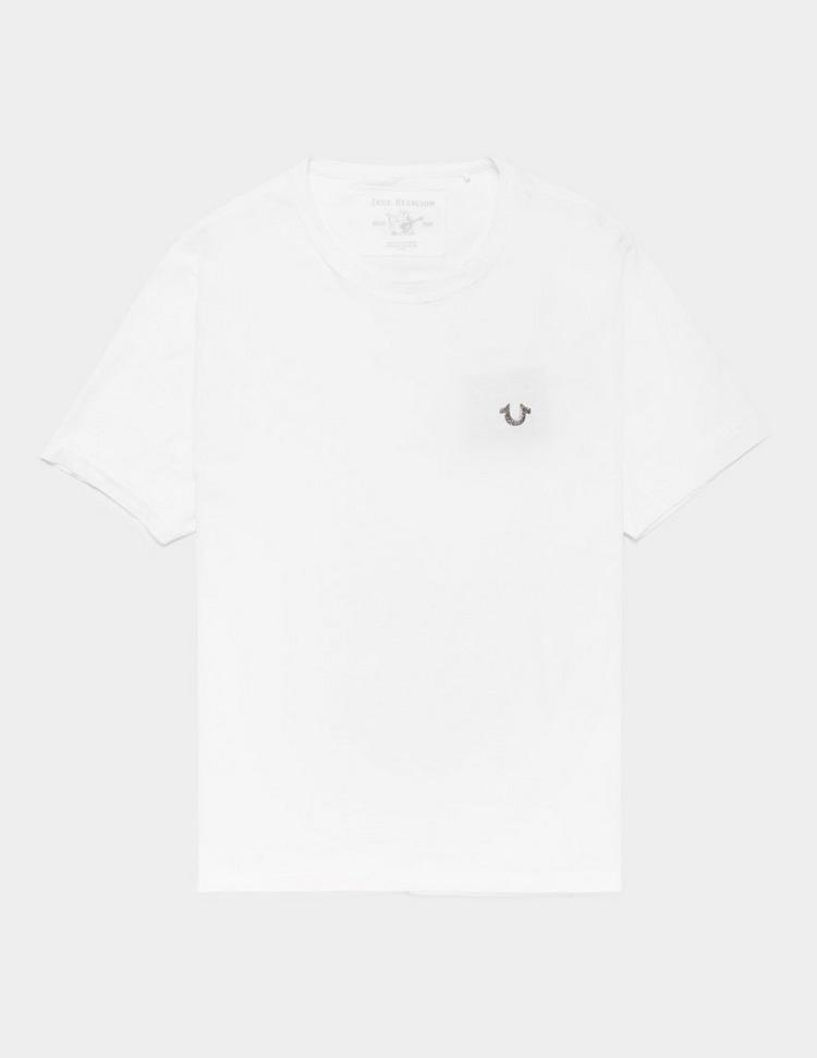 True Religion Iridescent Buddah Short Sleeve T-Shirt