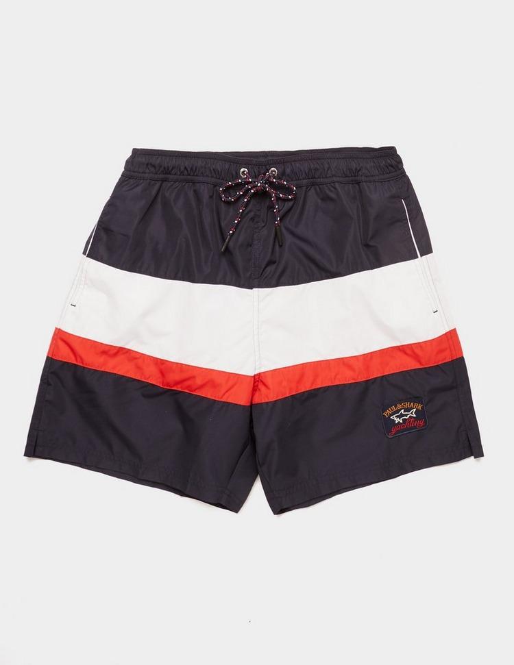 Paul and Shark Colour Block Swim Shorts