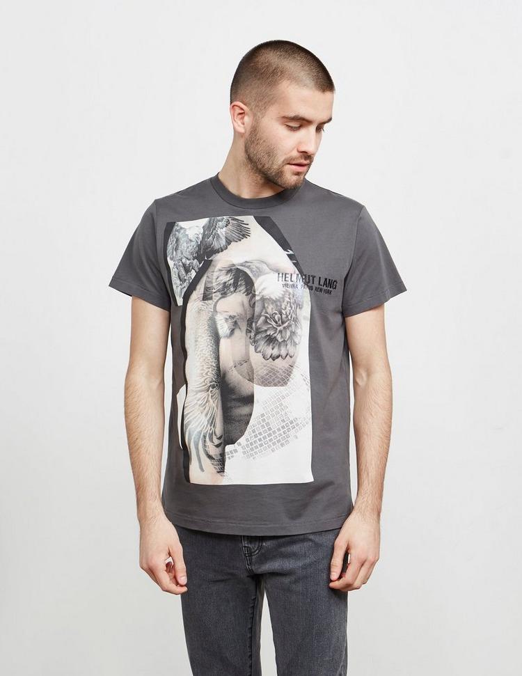 Helmut Lang Eagle Short Sleeve T-Shirt