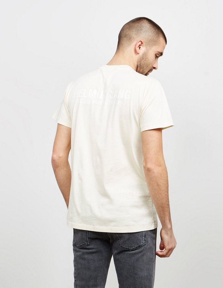 Helmut Lang Stock Short Sleeve T-Shirt