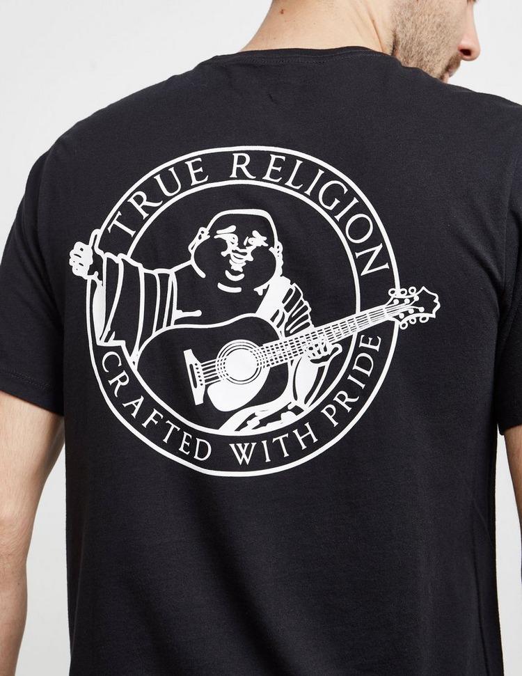 True Religion Back Circle Short Sleeve T-Shirt