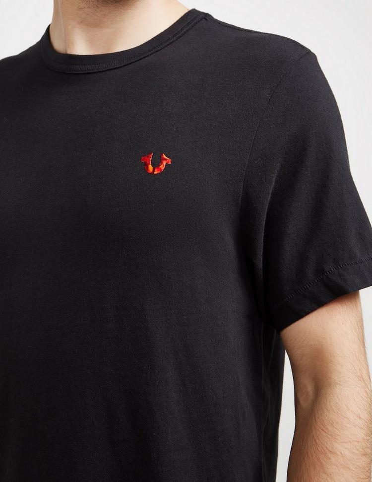 True Religion Foil Buddha Short Sleeve T-Shirt