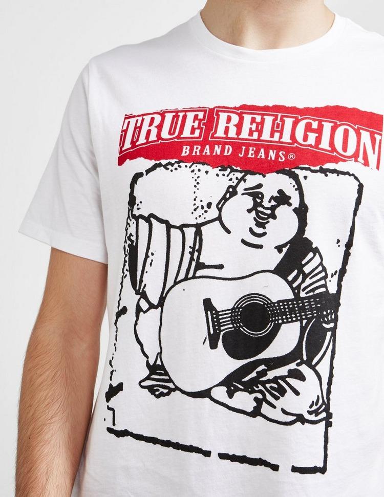 True Religion Buddah Tear Short Sleeve T-Shirt