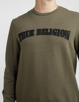 True Religion Felt Logo Sweatshirt