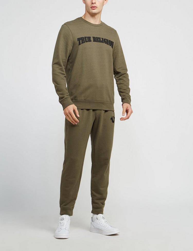 True Religion Felt Logo Track Pants