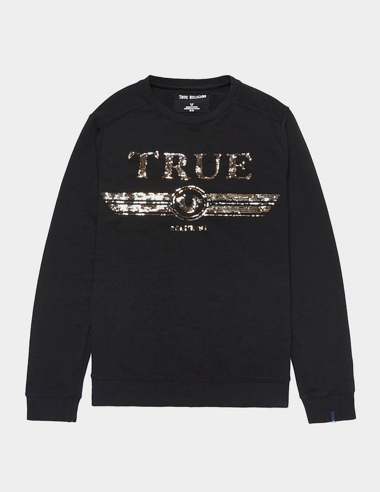 True Religion Sequin Sweatshirt