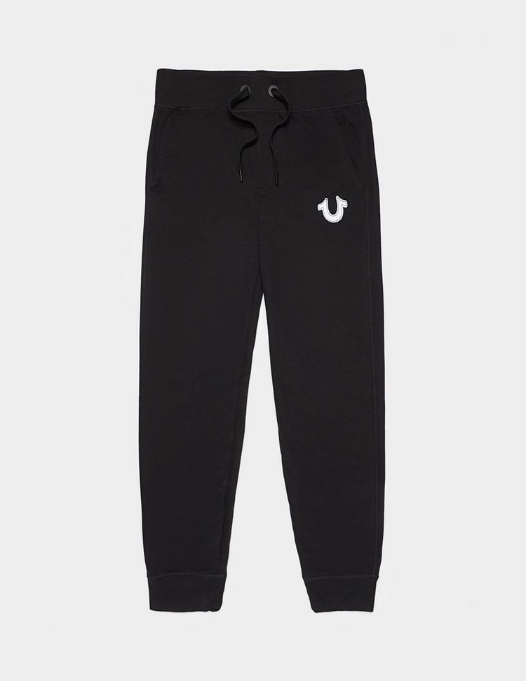 True Religion Felt Logo Track Pants