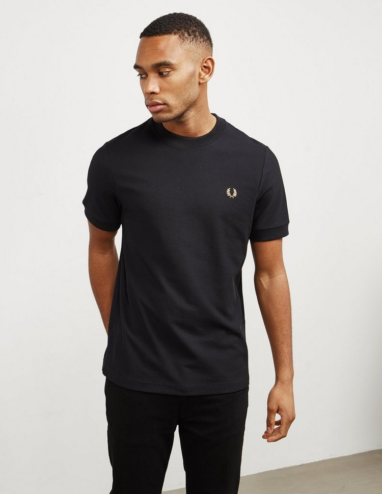 Fred Perry Pique Short Sleeve T-Shirt