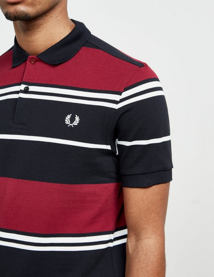 Fred Perry Stripe Short Sleeve Polo Short