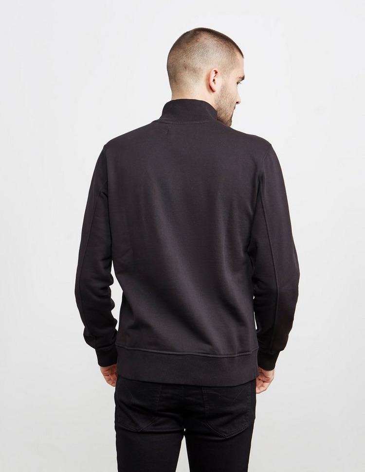 Calvin Klein Jeans Institutional Central Logo Half Zip Sweatshirt
