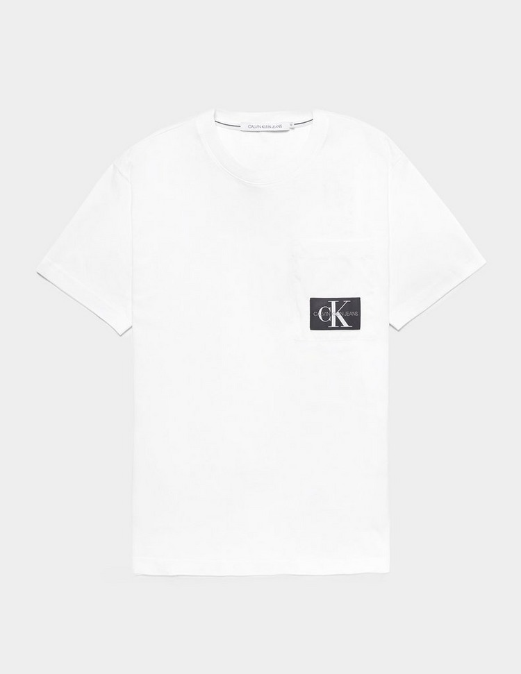 Calvin Klein Jeans Mix Media Pocket Short Sleeve T-Shirt