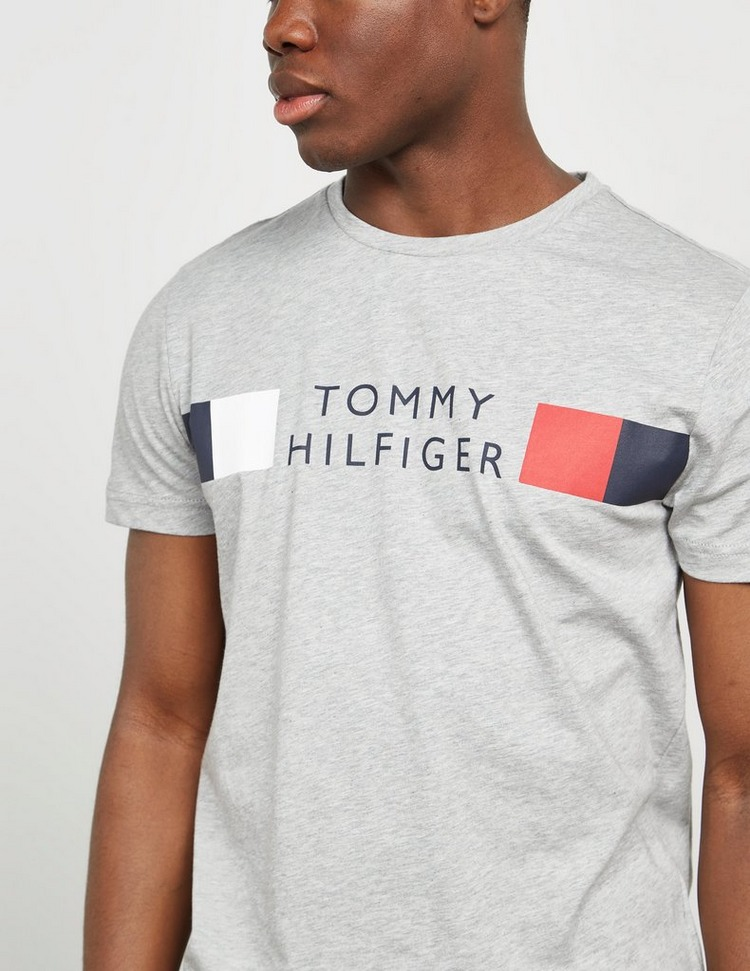 Tommy Hilfiger Multi Logo Short Sleeve T-Shirt