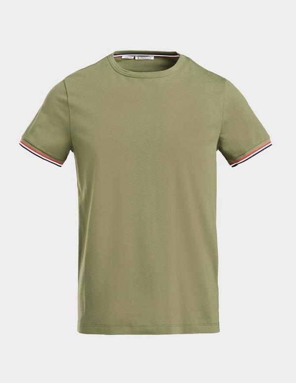 Moncler Classic Tip Short Sleeve T-Shirt