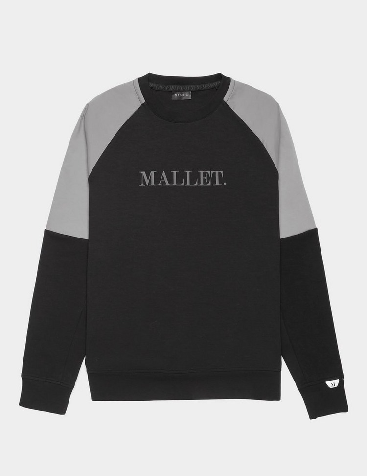 Mallet Woven Panel Sweatshirt