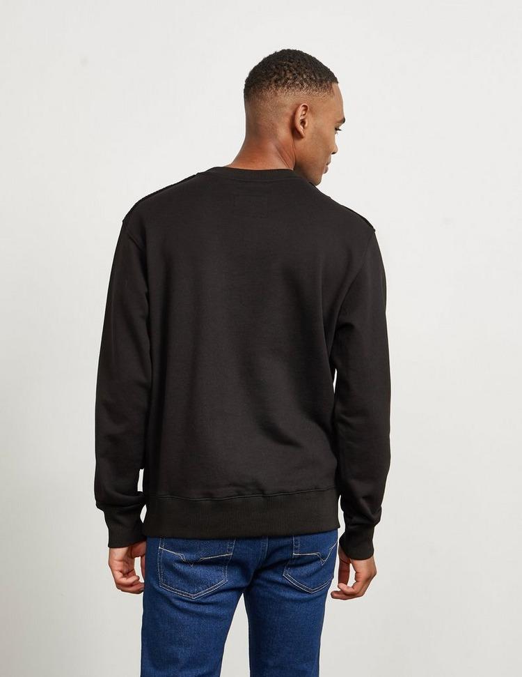 Versace Jeans Couture Large Foil Logo Sweatshirt