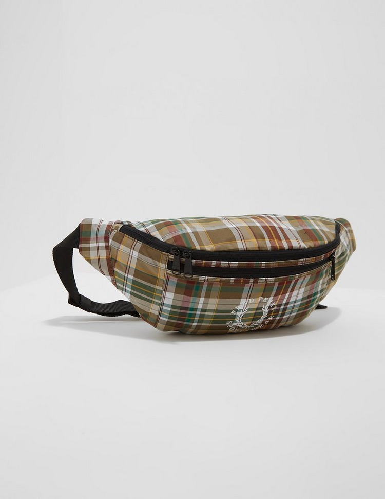 Fred Perry Check Bum Bag