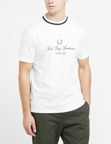 Fred Perry Script Embroidered T-Shirt