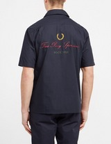 Fred Perry Embroidered Revere Collar Shirt