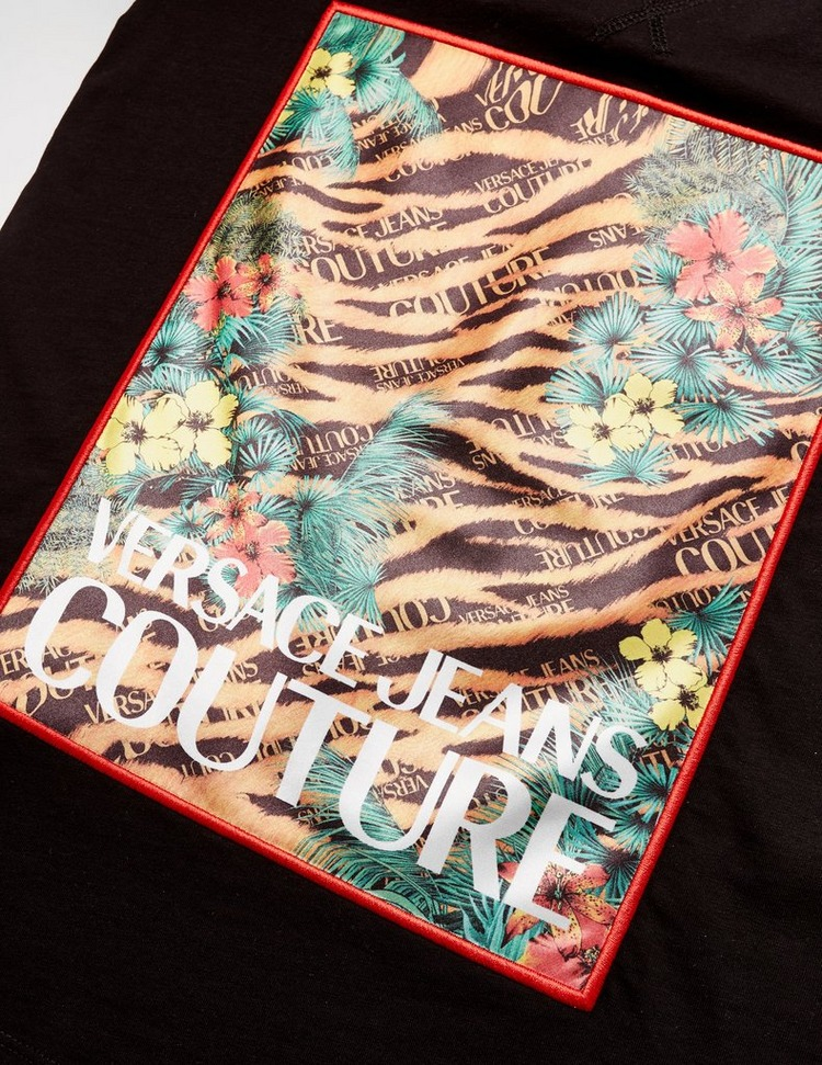 Versace Jeans Couture Jungle Tiger Print Short Sleeve T-Shirt