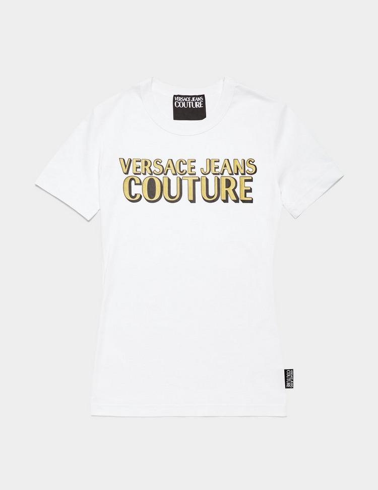 Versace Jeans Couture Glitter Logo Short Sleeve T-Shirt
