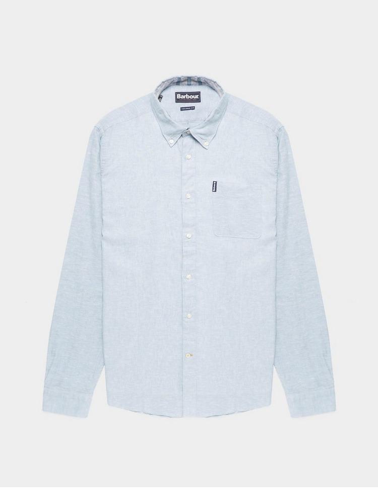 Barbour Long Sleeve Linen Shirt