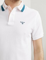 Barbour Double Tip Short Sleeve Polo Shirt
