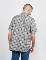 Fred Perry Small Check Short Sleeve Shirt