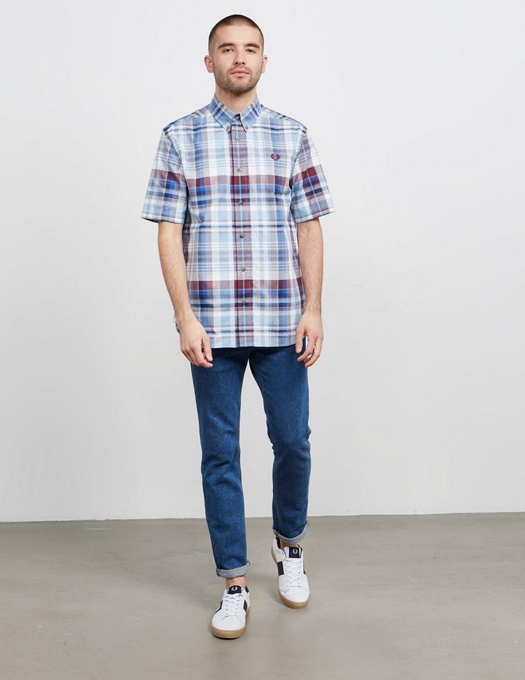 Fred Perry Tartan Short Sleeve Shirt