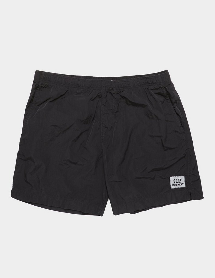 CP Company Chrome Patch Swim Shorts