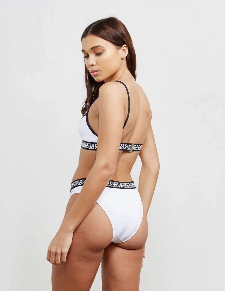 Dsquared2 Cross Band Bikini Top