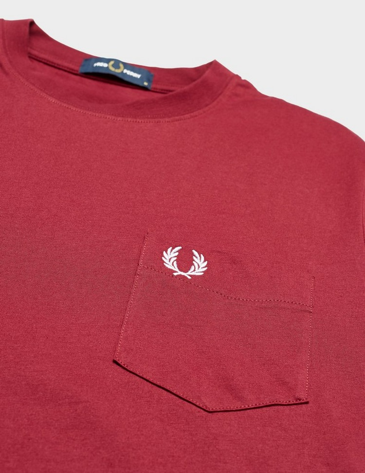 Fred Perry Core Pocket Short Sleeve T-Shirt