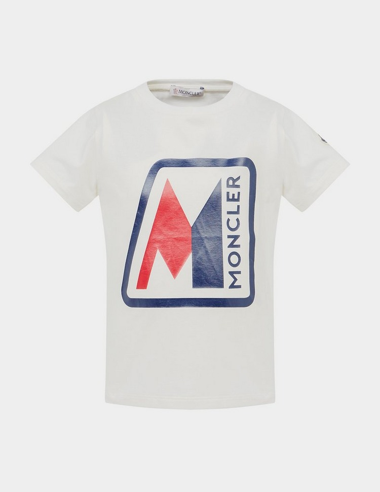 Moncler Enfant Box Short Sleeve T-Shirt