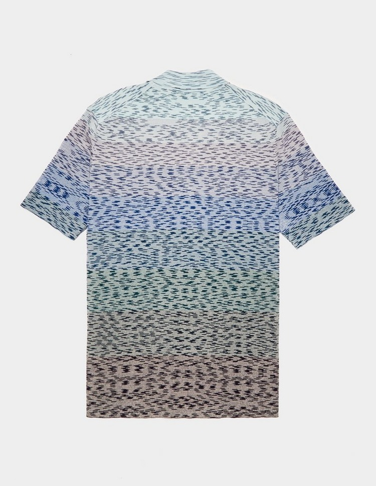 Missoni Stripe Knit Polo Shirt