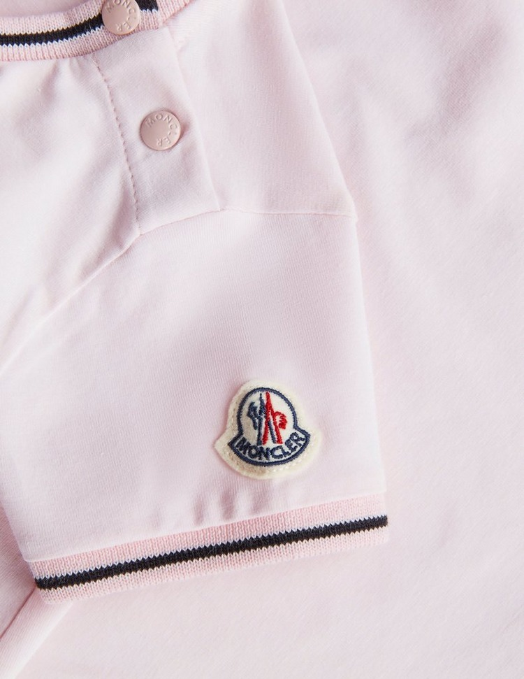 Moncler Girls Flash Logo Short Sleeve T-Shirt