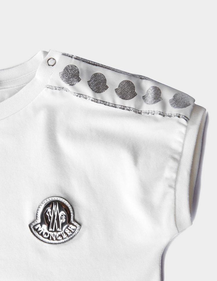 Moncler Enfant Girls Small Logo Short Sleeve T-Shirt