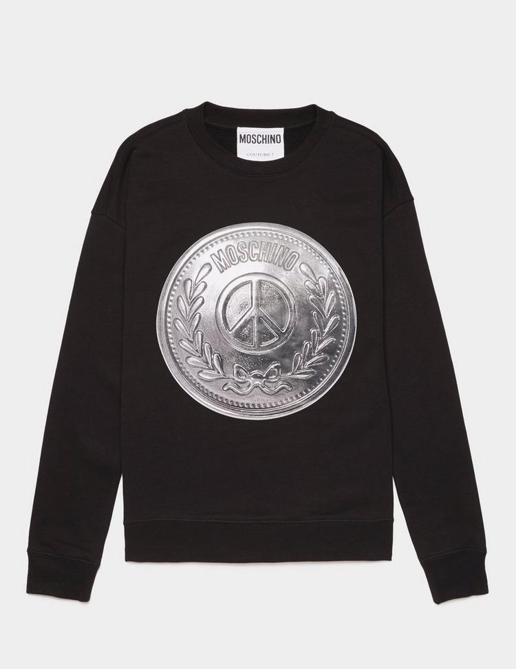 Moschino Peace Pin Sweatshirt