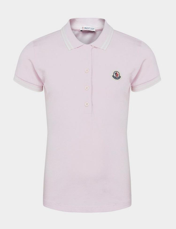 Moncler Enfant Girls Short Sleeve Polo Shirt
