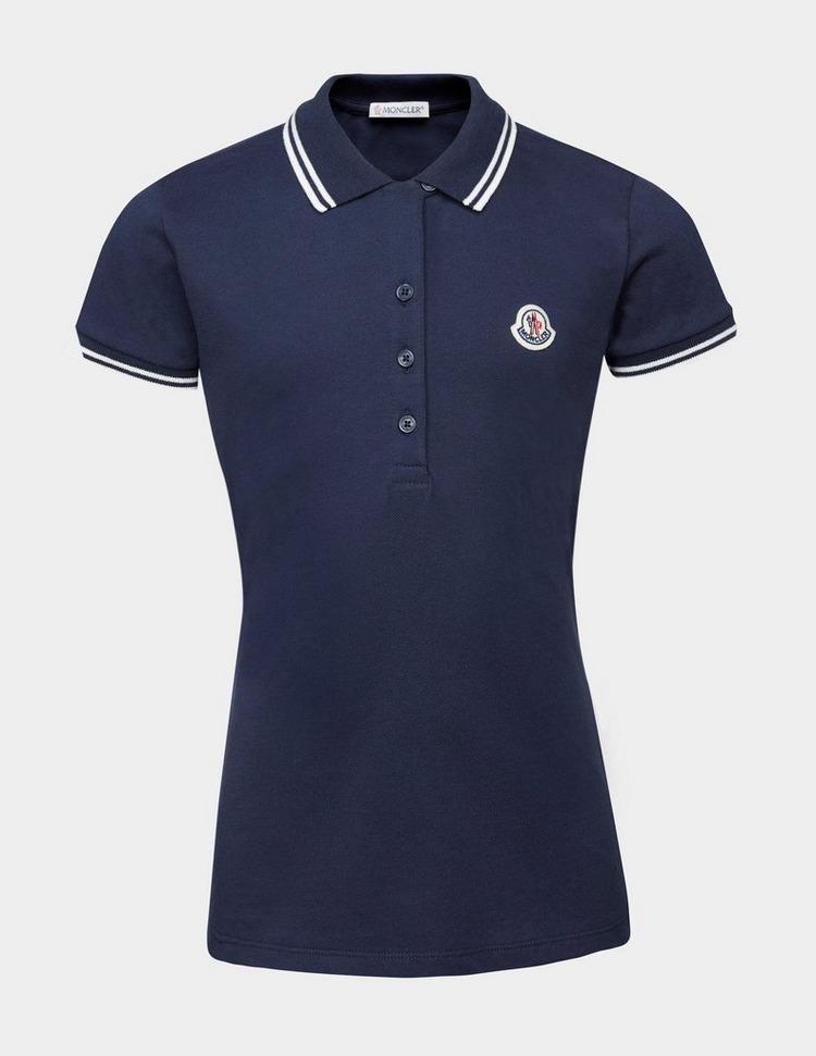 Moncler Girls Short Sleeve Polo Shirt