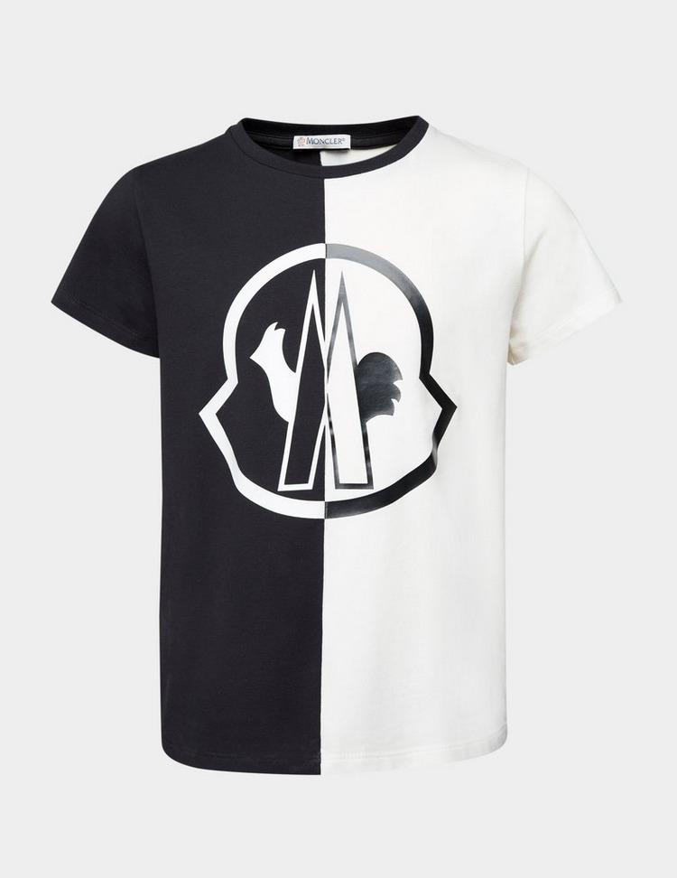 Moncler Boys Split Short Sleeve T-Shirt