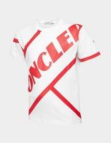 Moncler Enfant Boys Diagonal Logo Short Sleeve T-Shirt