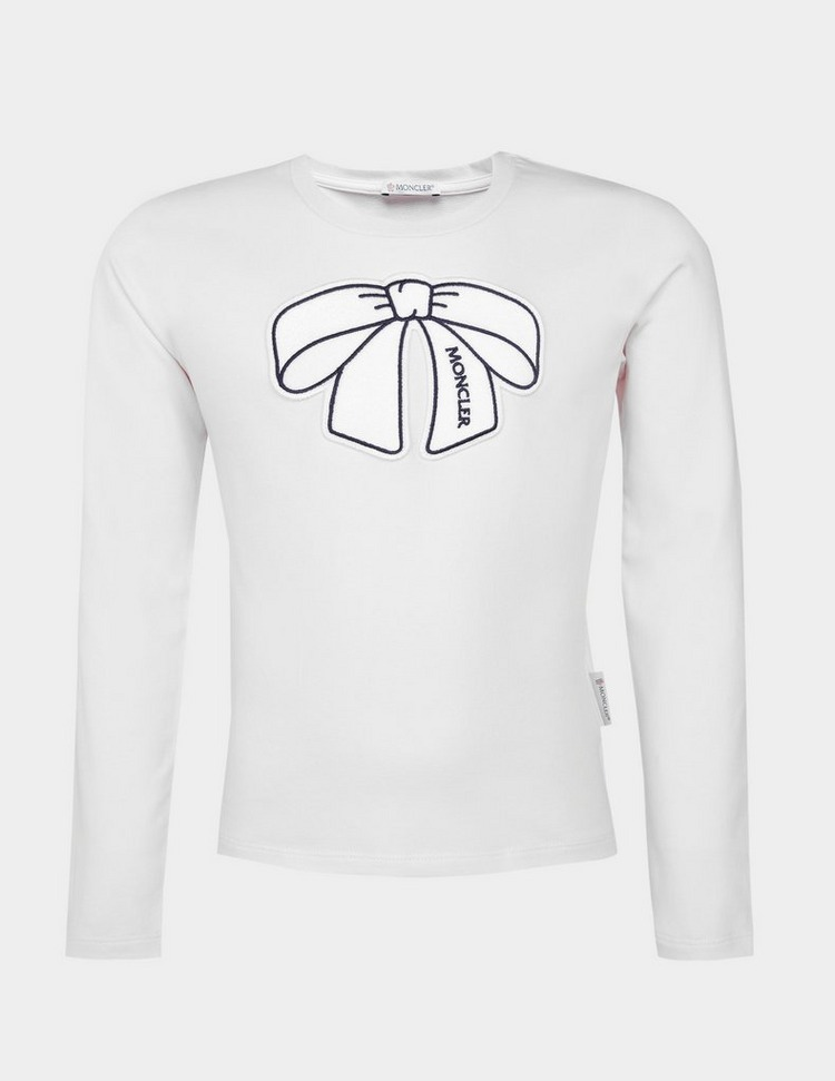 Moncler Enfant Girls Long Sleeve T-Shirt