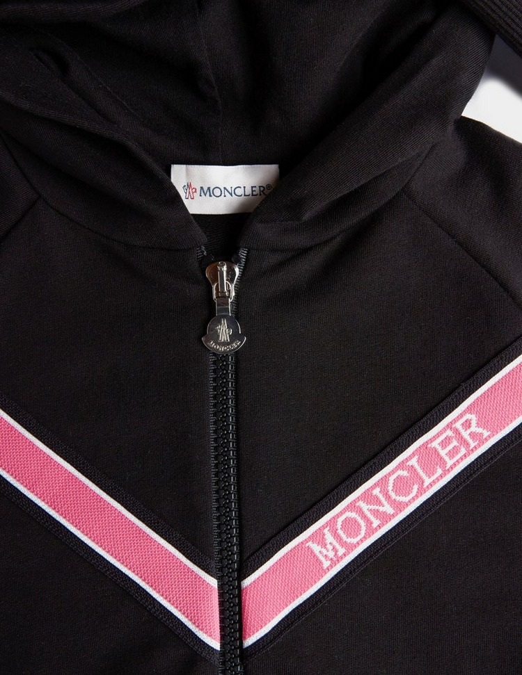 Moncler Girls Tape Tracksuit