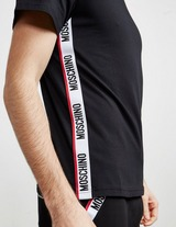 Moschino Side Tape Short Sleeve T-Shirt