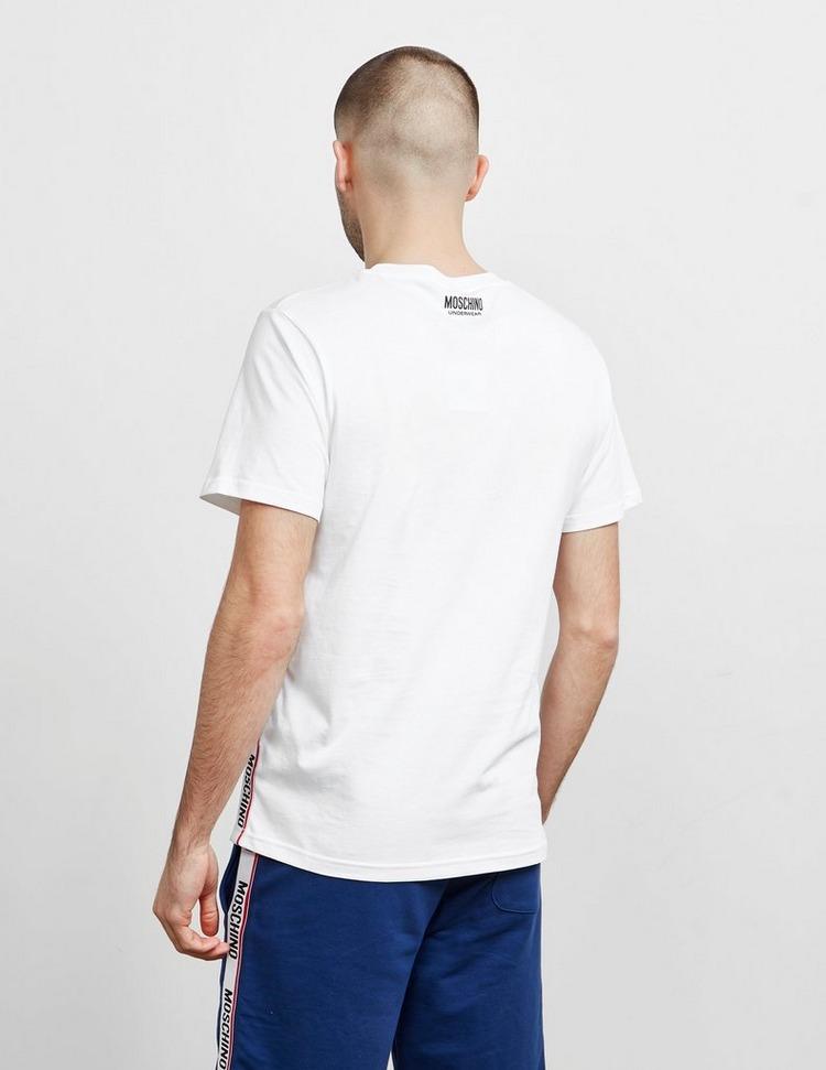 Moschino Side Tape Short Sleeve T-Shirt