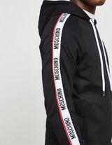 Moschino Arm Tape Zip Through Hoodie
